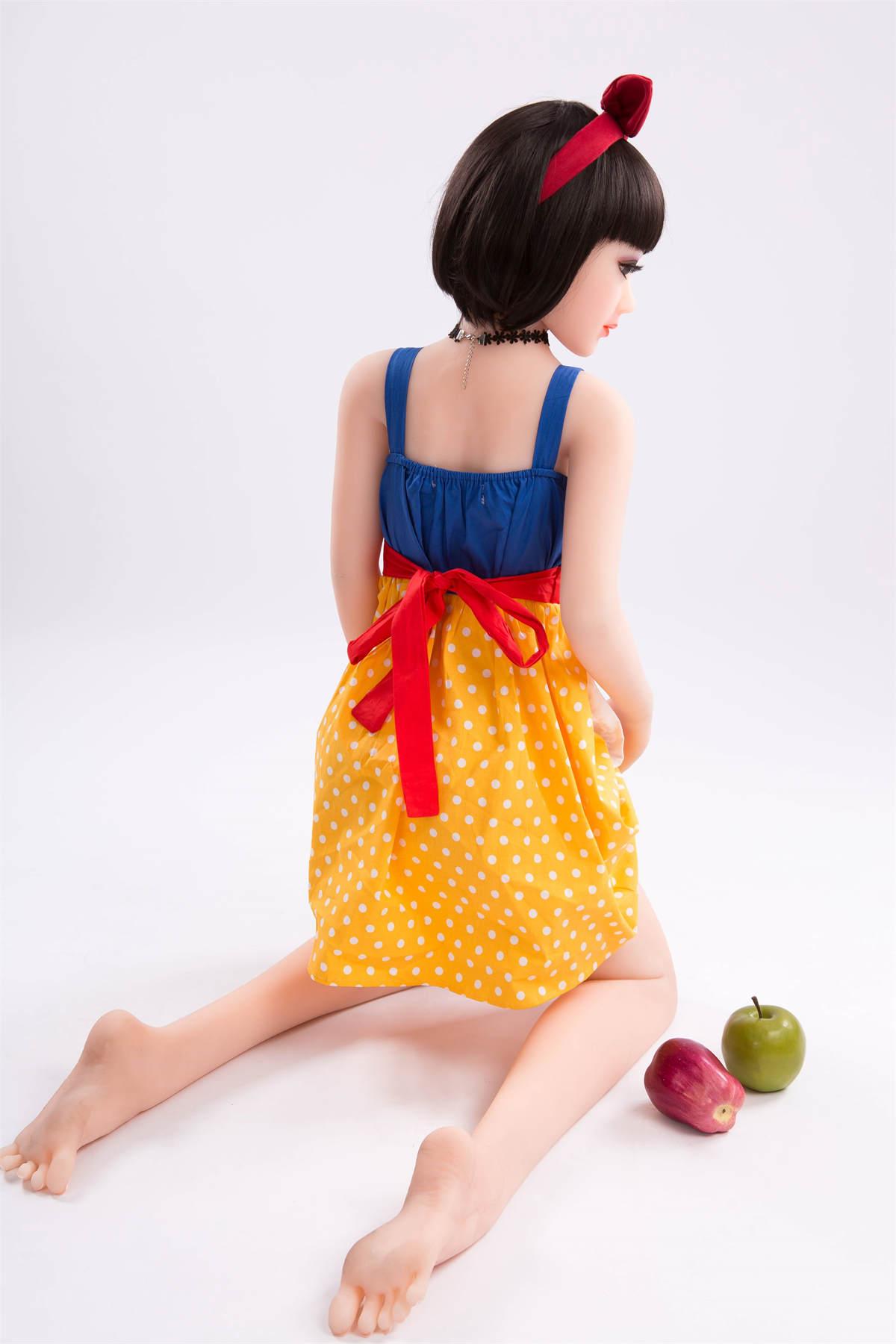 Scarlett-125cm Mini Real Silicone Sex Dolls Robot Realistic Vagina Anime Sexy Love Doll Skeleton Full Masturbator Adult Toys for Men (24)